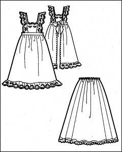 60 х годов, гипюровое платье выкройка и.