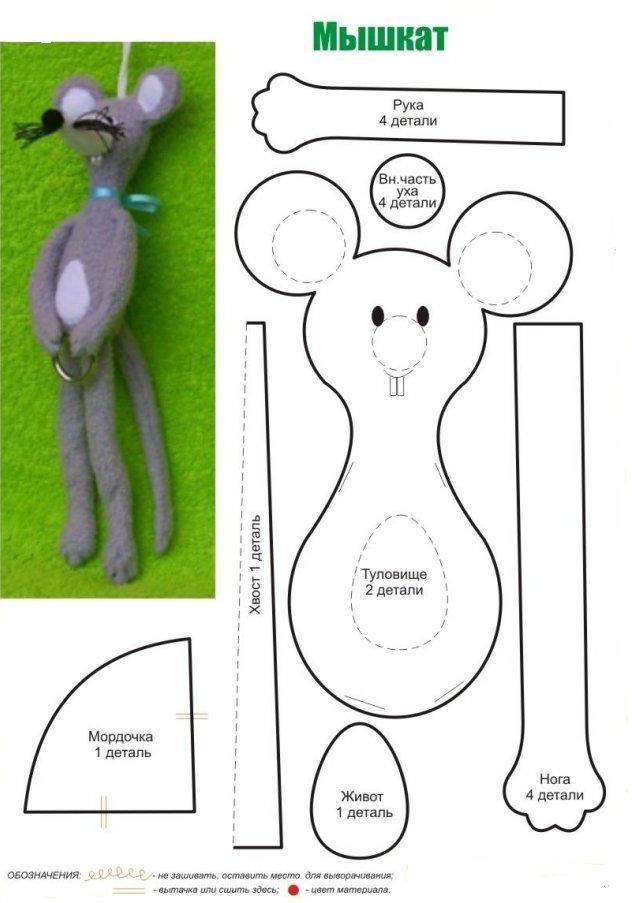 Мягкие игрушки технология шитья