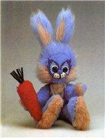"""Мягкая игрушка """"Зайчик"""" своими руками"""