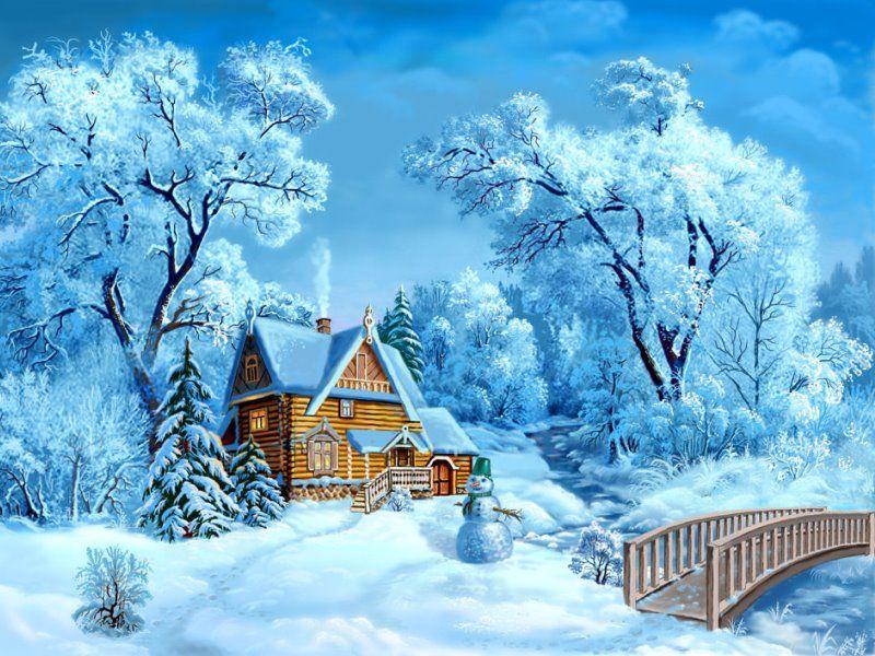 Загадки про зиму, снег, снежинки и лед