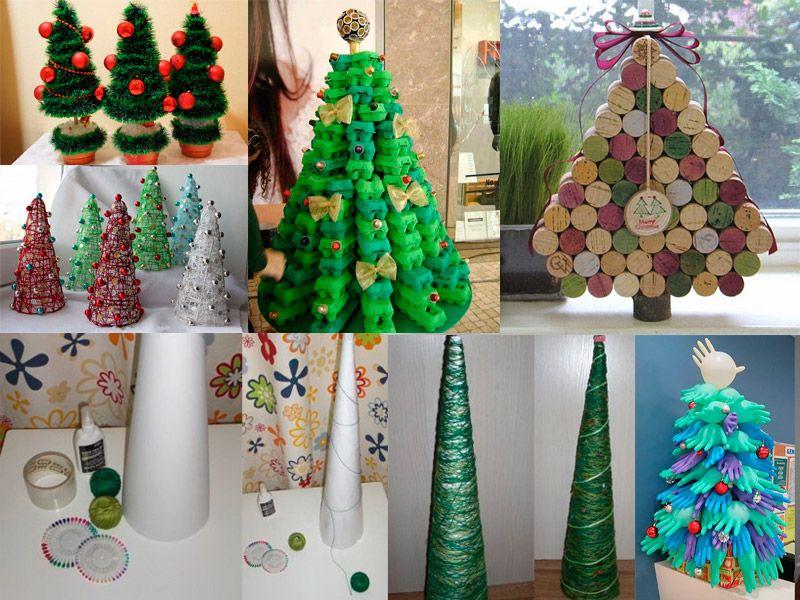 Из чего сделать ёлку к Новому году и рождеству: 50 идей для вдохновения и творчества с детьми