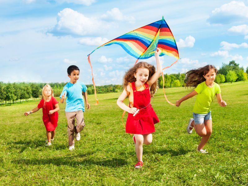 Подвижные игры и забавы для детей на свежем воздухе