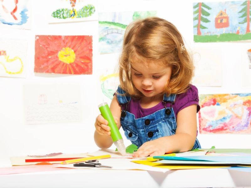 Аппликации для детей 2-4 лет: простые шаблоны