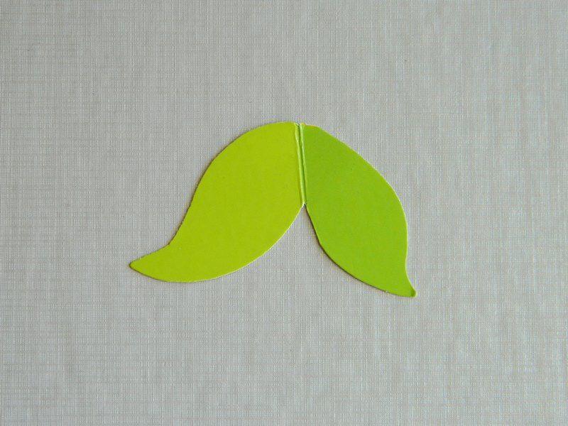 Аппликация из цветной бумаги русалочка 3
