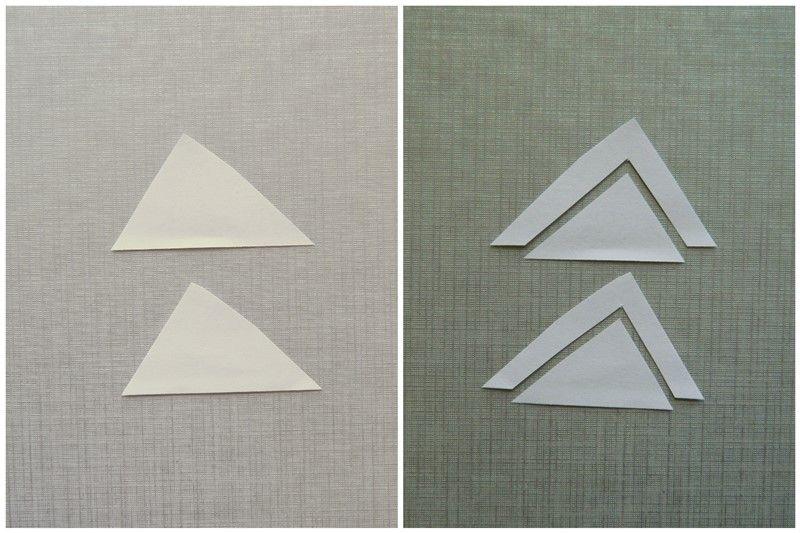 Аппликация из цветной бумаги русалочка 8