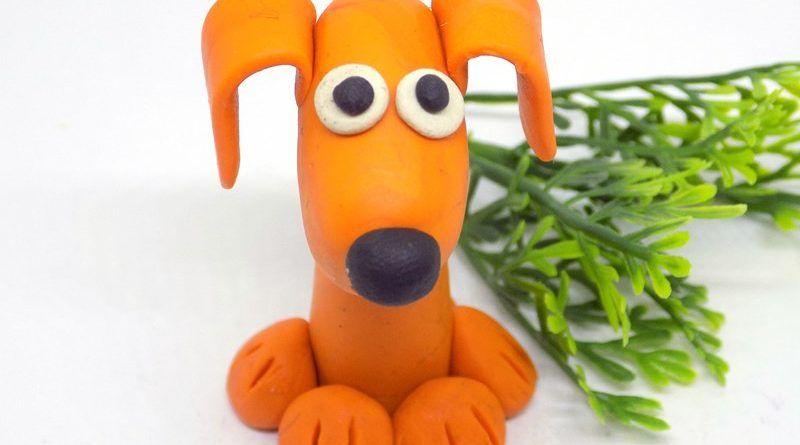 Как слепить собачку из пластилина: подробный мастер-класс для детей с картинками