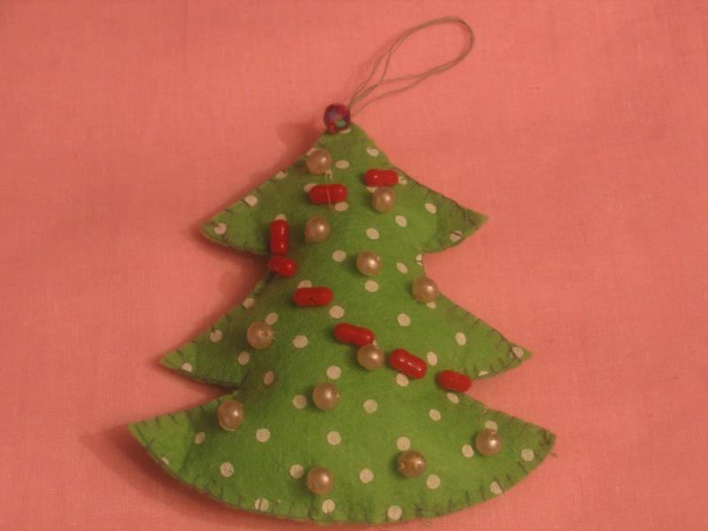Новогодний мастер-класс: текстильная новогодняя елка