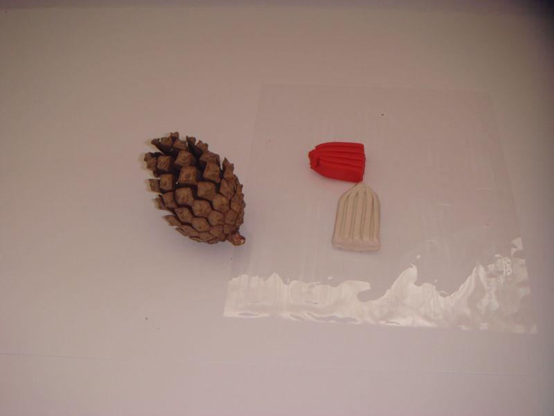 Птицы из шишек: детские поделки из природных материалов