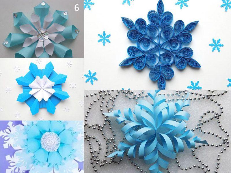Как сделать снежинку из бумаги: идеи для новогодних поделок с детьми