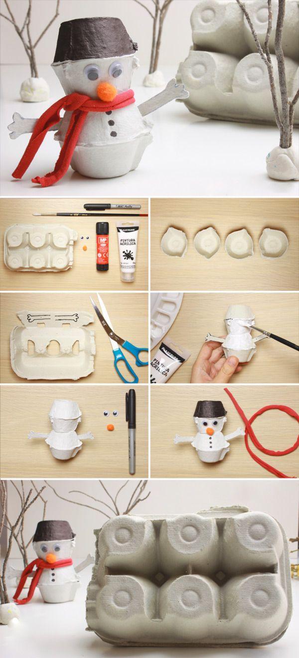 Поделки из упаковки от яиц