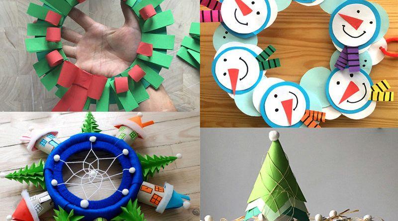 Новогодние поделки с детьми своими руками: пошаговые мастер-классы с фото