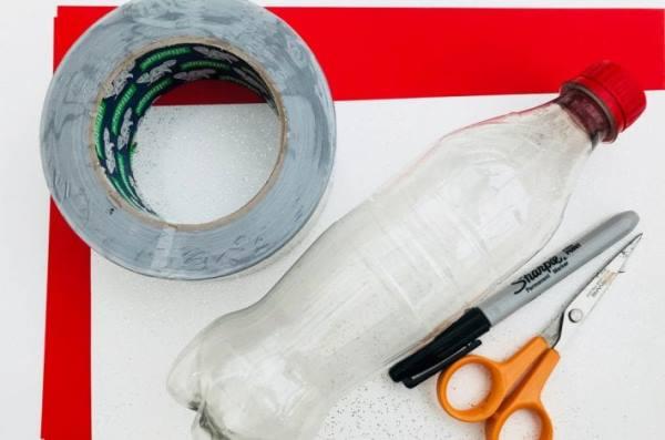 Самолетик из пластиковой бутылки
