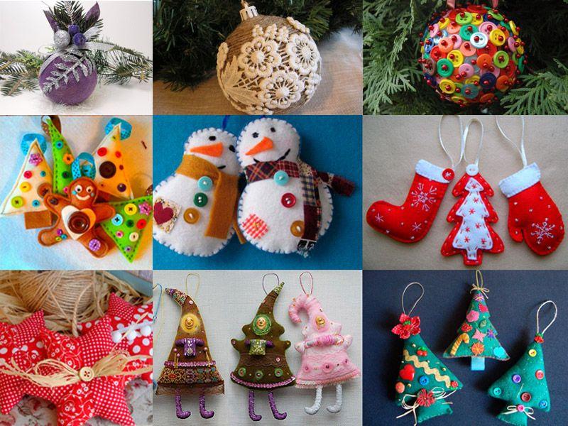 Из чего сделать новогодние игрушки с ребенком: идеи, советы
