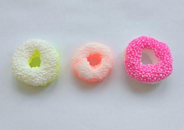 Еда для кукол Барби пз пластилина: пончики