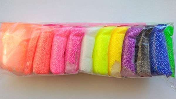 Еда для кукол из легкого пластилина: мороженое