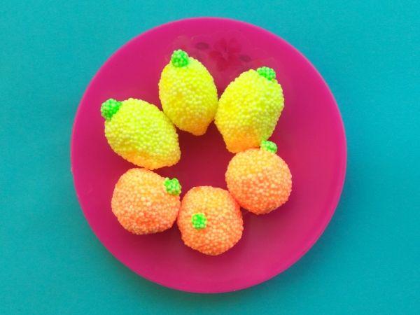 Лимоны из пластилина: как слепить