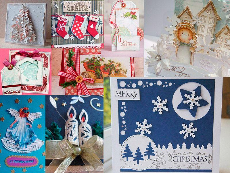 Объемные открытки на рождество своими руками - из чего сделать?