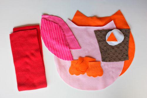 Подушка Сова для ребенка: как сшить своими руками