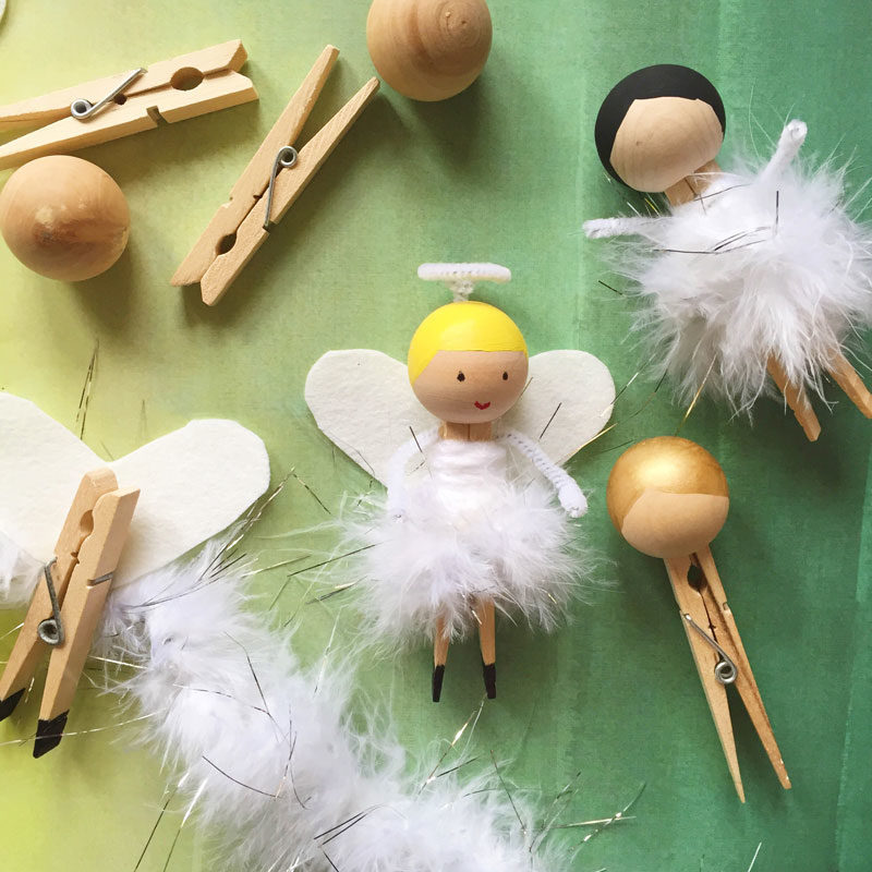 Идеи для поделки Ангел