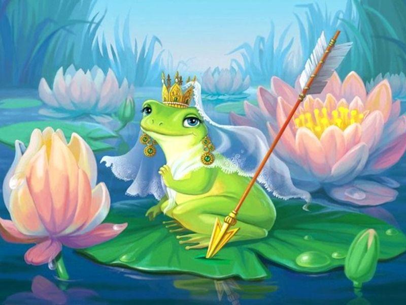 Сценарий праздника к 8 Марта для девочек Царевна-лягушка