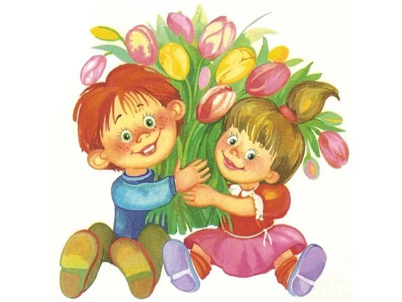 8 Марта для детей 3-4 лет: сценарий праздничной программы