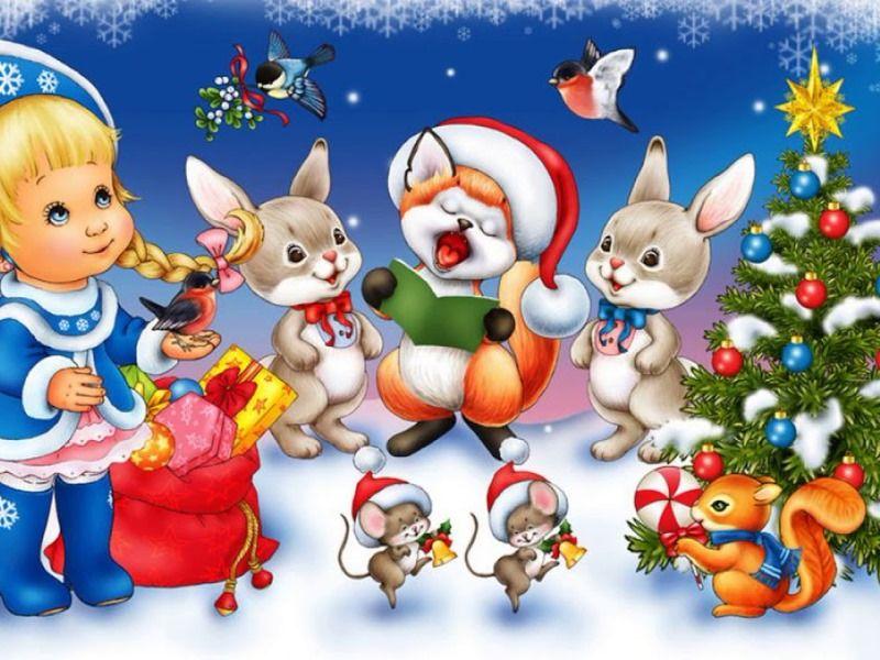 Новый год у зверят: сценарий новогоднего представления для малышей