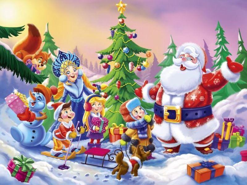 Сценарий новогоднего представления для начальной школы в 1-4 классах