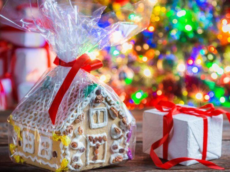 Сладкий подарок на Новый год - как собрать самостоятельно
