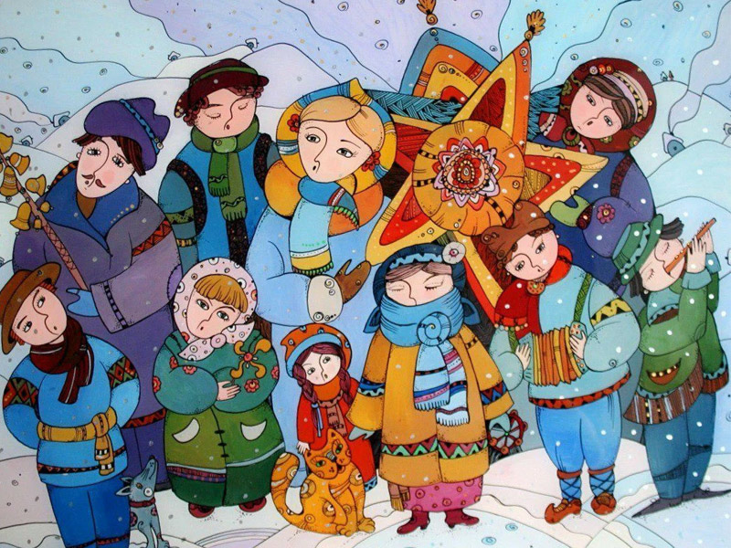 Интересные колядки на Рождество - длинные и прикольные колядки для детей и взрослых