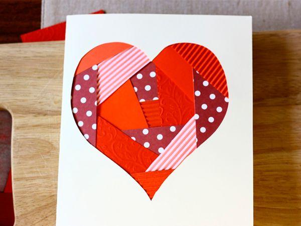 Идеи для открыток-валентинок своими руками