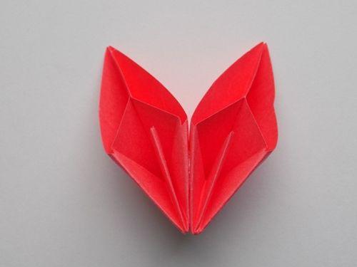 Цветок из модулей оригами