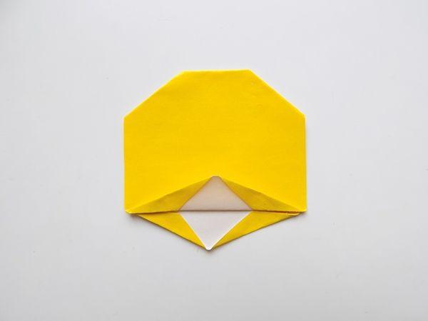 Оригами - утенок схема