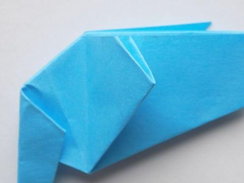 Оригами из бумаги слон для детей 7, 8, 9 лет: пошаговая схема с описанием