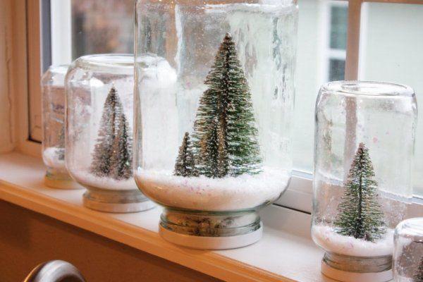 Как и из чего можно сделать снежный шар своими руками