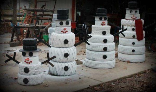 Из чего сделать снеговика: идеи для детского творчества
