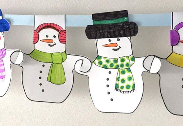 Красивые гирлянды на Новый год своими руками - 50 идей для поделок с детьми