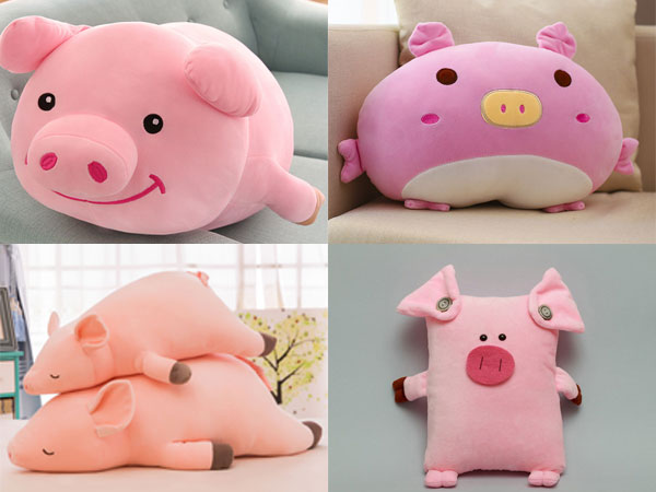 Свинка-подушка