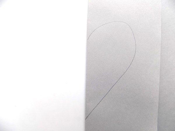 Поделка мышка из серой бумаги