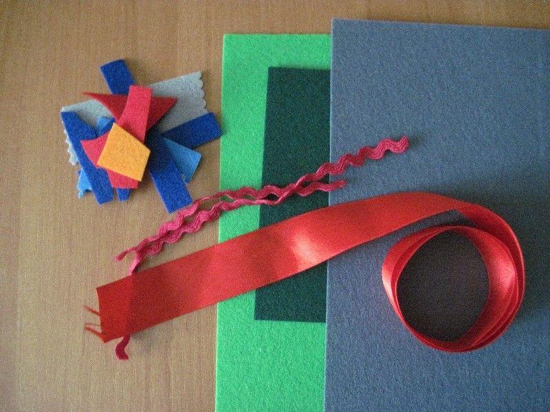 Игрушки на елку из фетра своими руками: идеи для творчества с детьми
