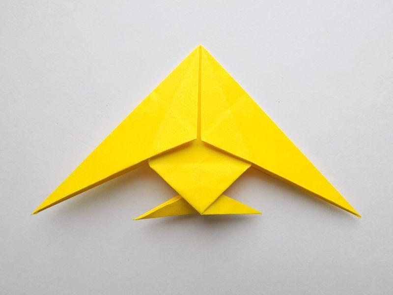Рыбка в технике оригами: пошаговая схема для детей с описанием