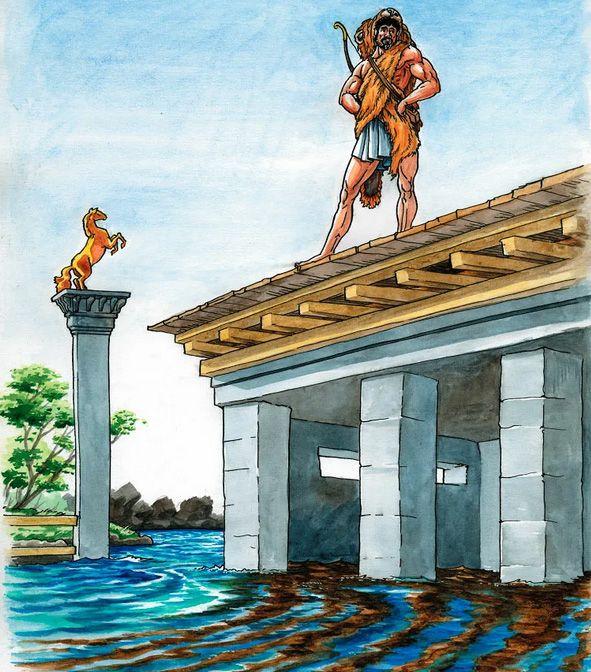 Авгиевы конюшни, миф про Геракла