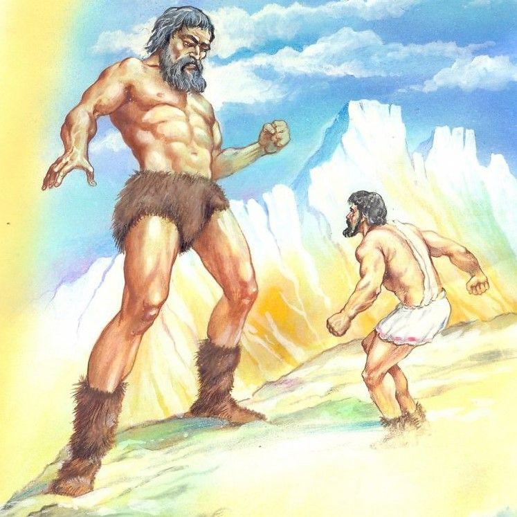 Геракл сражается с богами против гигантов