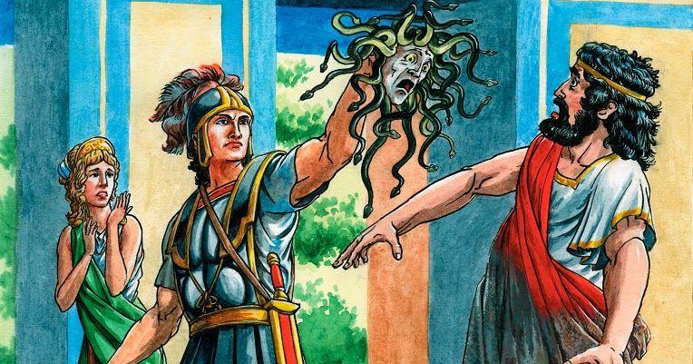 Свадьба Персея, миф
