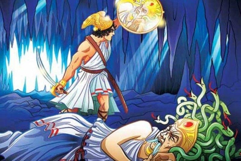 Персей убивает Горгону Медузу