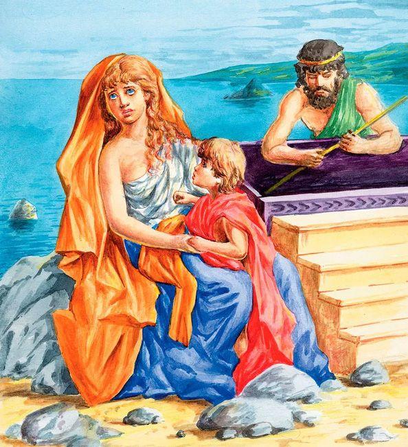 Рождение Персея