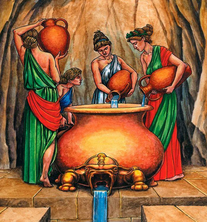 Данаиды, легенды о героях Древней Греции