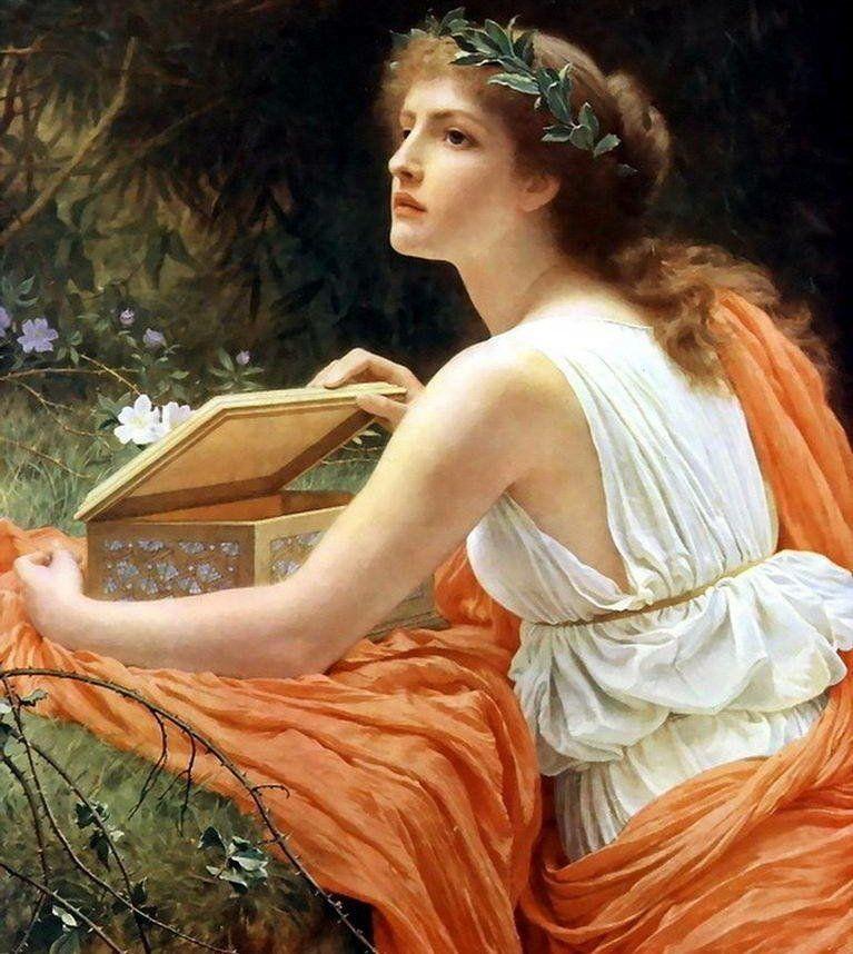 Пандора, древнегреческий миф