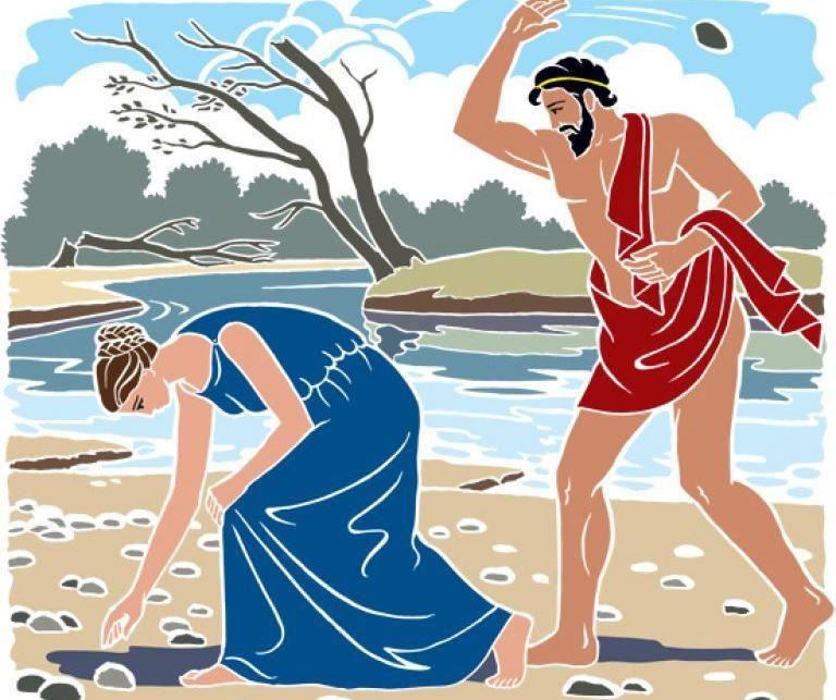 Девкалион и Пирра: древнегреческий миф