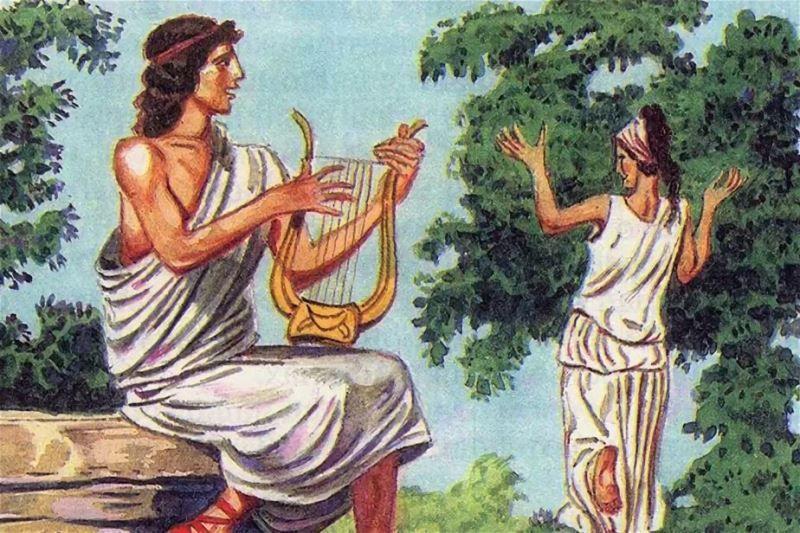 Орфей и Эвридика, миф Древней Греции