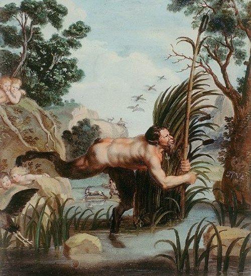 Пан и Сиринга - Мифы Древней Греции для детей, читать